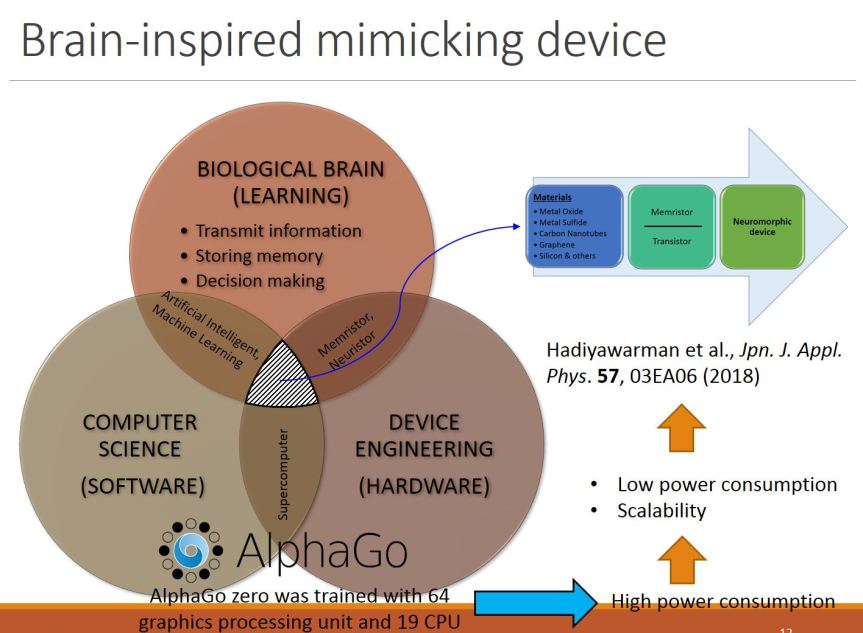 Brain Inspired mimicking device
