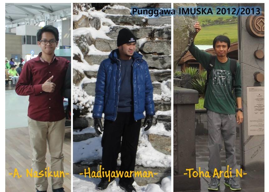 Punggawa IMUSKA 2012-2013
